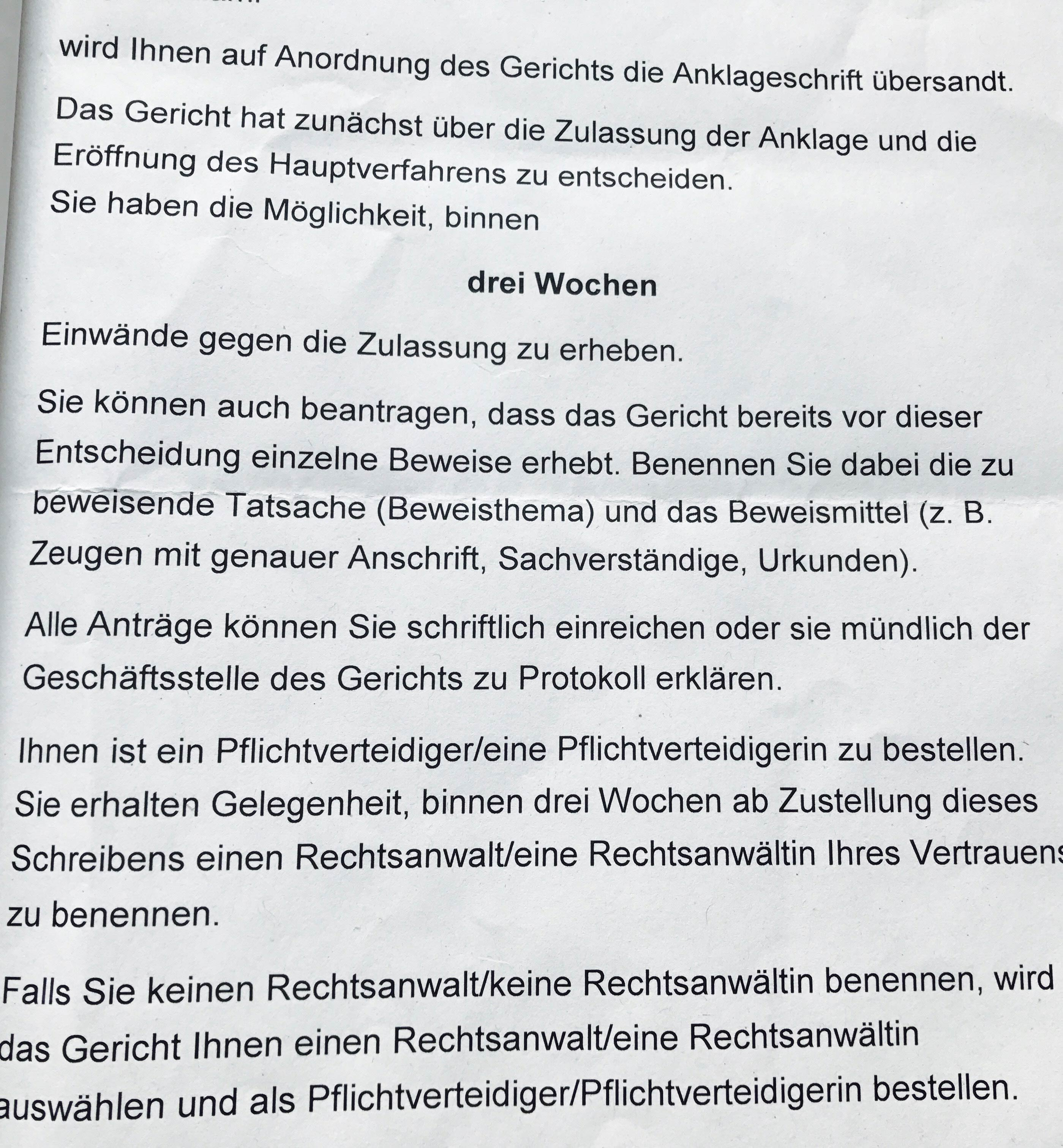 Rechtsanwalt Clemens Louis Brandstiftung